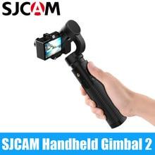 SJCAM портативный монопод с шарнирным замком для детей 2, 3 оси стабилизатор Bluetooth Тип управления C SJ-GIMBAL 2 для SJ6 SJ7 SJ8 Pro Plus Air Камера