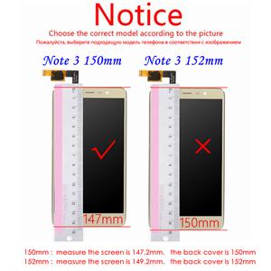 Image 3 - Per Redmi Nota 3 150 millimetri Display LCD + Frame Dello Schermo di Tocco Digitizer Assembly Per Xiaomi Redmi Nota 3 Pro sostituzione Dello Schermo LCD