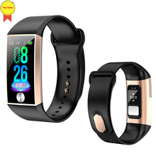 2019 world first ECG band PPG ECG wristband Heart Rate band B/P monitor blood Oxygen Monitor IP67 Smart ECG band for IOS Android