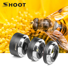 SHOOT Auto Focus Macro Extension Tube Ring for Canon EOS EF EF S Lens 4000D 2000D 1200D 1100D 700D 450D 400D 200D 70D 5D T5 T6i