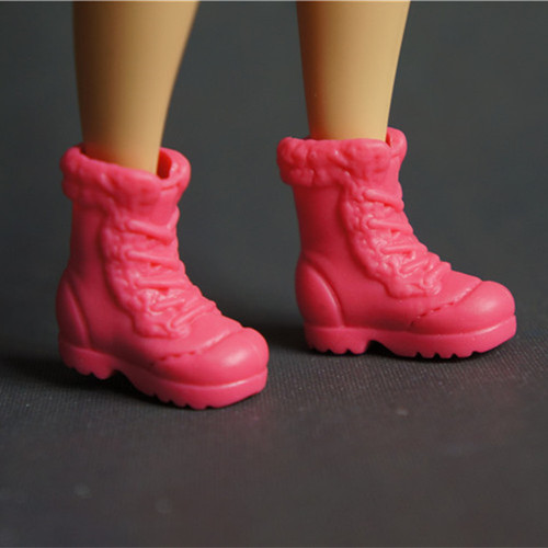 Doll Shoes Mix style High Heels Sandals Boots Colorful Assorted Shoes Accessories For Barbie Doll Baby Xmas DIY Toy 10