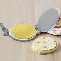 Alumínio de aço inoxidável cor mexicana tortilla imprensa manual multifuncional tortilla massa pressionando e moldar ferramenta cozinha