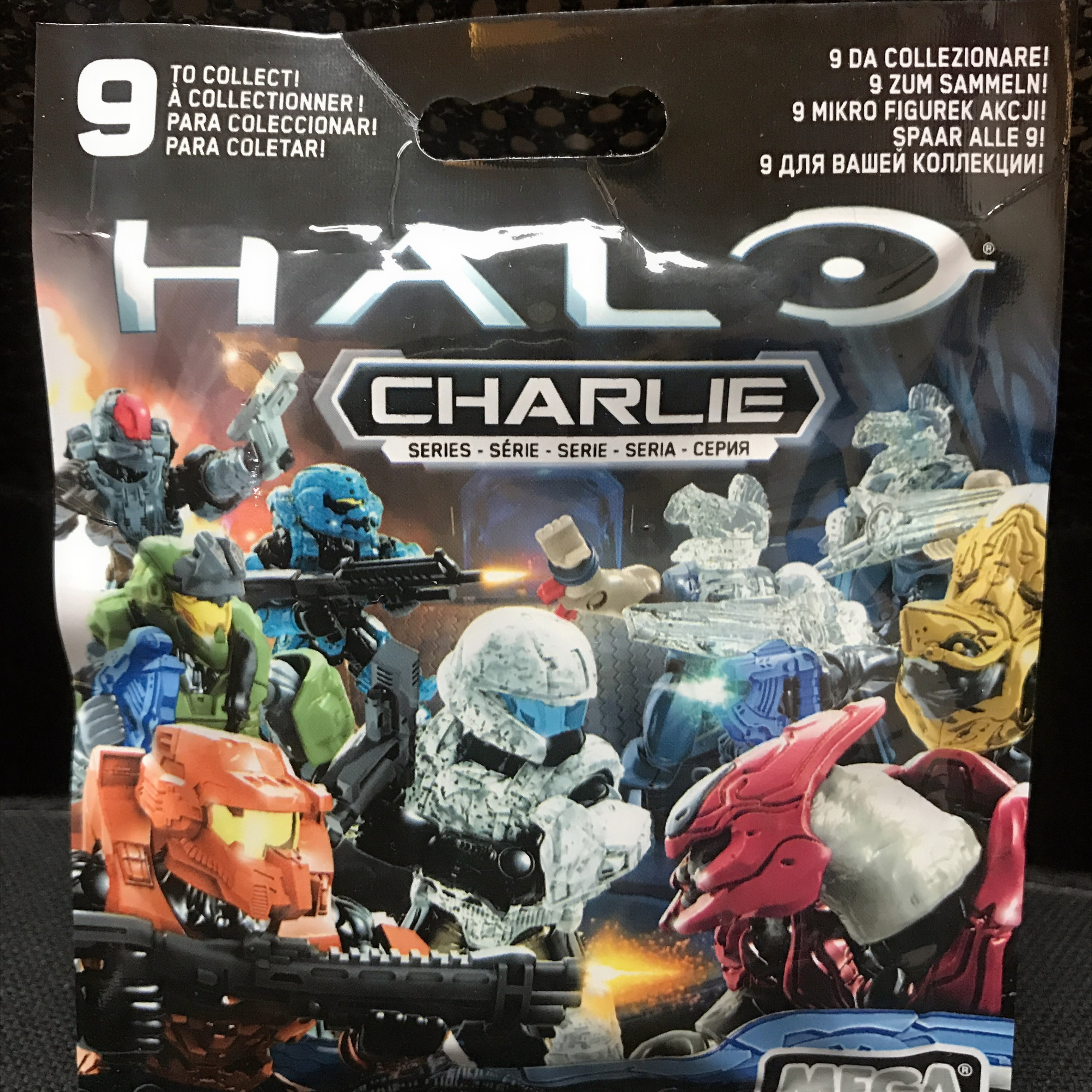 LOT OF 9 SEALED BLIND BAGS HALO Charlie SERIES CNC84