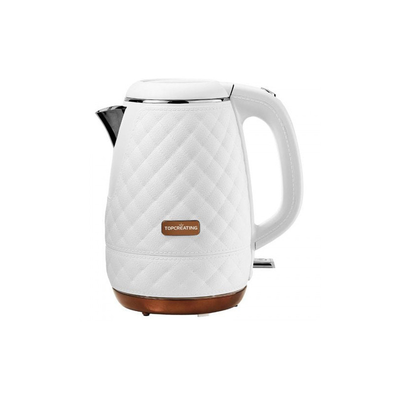 YOUPIN TOPCREATING 1.2L / 1800W Electric Kettle Leather Grain Kichen Water Kettle Water Boiler
