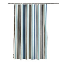 Vertical Stripes Elegant Polyester Fabric Shower Curtain Washable Bathroom Curtain Waterproof Shower Curtain(China)