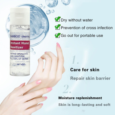 Disposable Hand Sanitizer 75 ° Alcohol Vial Antiviral To Prevent Infection 40ml Essential For Children And Families