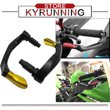 Universal For MT-125 MT125 MT 125 2014 2015 2016 2017 2018 Motorcycle Handlebar Grips Guard Brake Clutch Levers Protector for xj6 xj 6 x j6 j 2009 2015 motorcycle accessories handlebar grips guard brake clutch levers protector falling protection