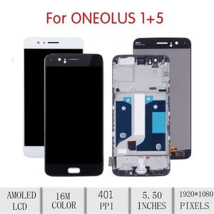 Image 2 - 100% NGUYÊN BẢN Cho OnePlus 5 Màn Hình Cảm Ứng LCD Bộ Số Hóa Cho Oneplus 5 Màn Hình Hiển Thị có Khung Thay Thế 1 + 5 màn hình A5000 MÀN HÌNH LCD