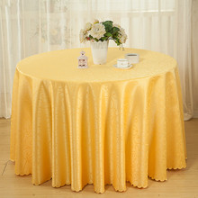 Hotel Tablecloth Restaurant round Table Tablecloth Circle Fabric Solid Color  crochet lace tablecloth