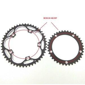 Image 5 - TRUYOU chaîne de vélo de route pliable, 130BCD 53T 52T 50T 48T 42T 39T 38T, CNC