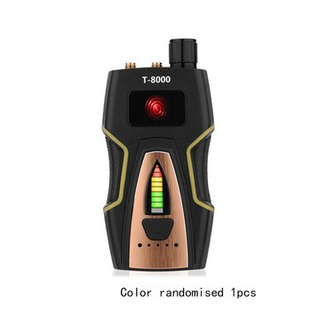 T8000,Anti Spy Detector RF Bug Detector Wireless Signal Scanner Alarm Security Motion Vibration Sensor