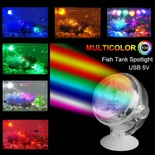 Spotlight-Lamp Submersible-Light Fish-Tank-Decoration Waterproof 1W LED 1PC Round-Shaped