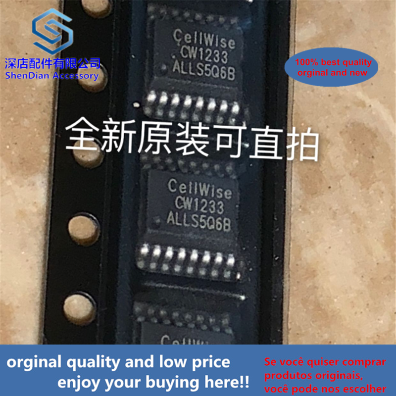 10pcs 100% Orginal And New CW1233ALLS Cellwise SSOP16 CW1233 SOP  Best Qualtiy