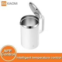 Xiaomi-hervidor de agua eléctrico inteligente, Control de temperatura constante, tetera de aislamiento térmico de 1.5L, aplicación móvil Mijia