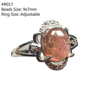 Женское и мужское кольцо из 100% натурального турмалина, регулируемое серебряное кольцо на палец с кристаллами и овальными бусинами, AAAAA
