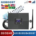Усилитель сотового сигнала GOBOOST для 2G 3G CDMA 850 UMTS 2100, ретранслятор LTE 4G 2600 AWS, 1700 шт., комплект сотового усилителя 1900 МГц