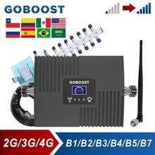 GOBOOST-amplificador de señal de teléfono celular, repetidor LTE 4G, 850 AWS, 2100 Uds., 2600 MHz, para 2G, 3G, CDMA, 1700 UMTS, 1900