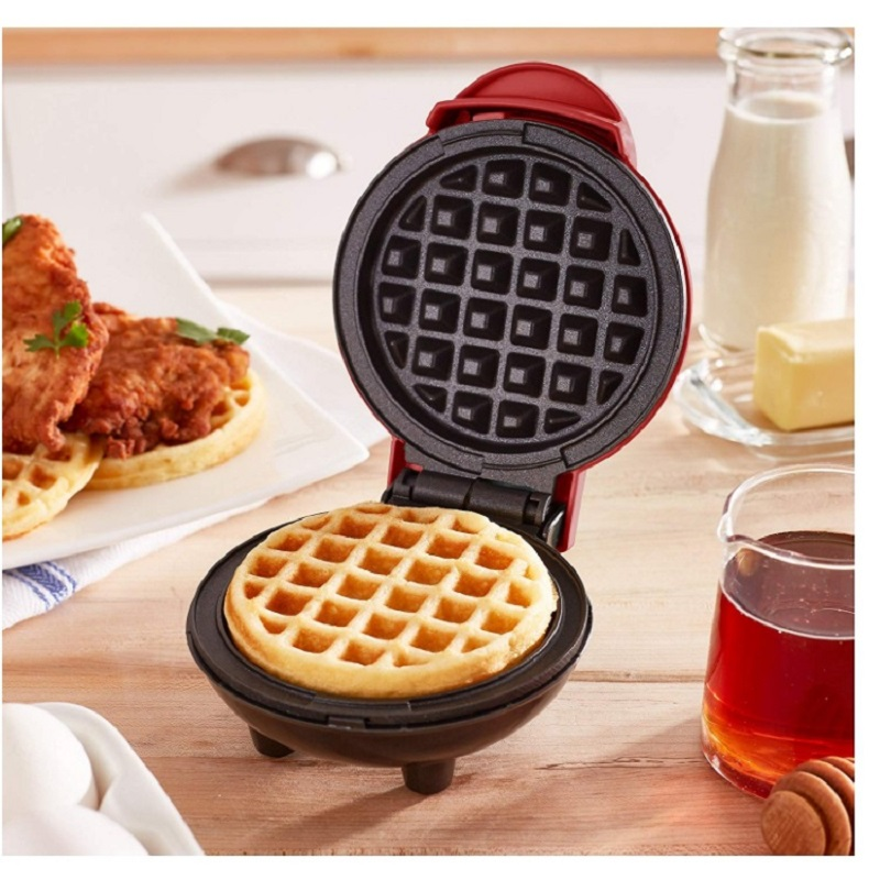 Mini Electric Waffles Maker Egg Cake Oven Pan Eggette Machine Portable Bubble Egg Cake Oven Breakfast Waffle Machine Waffle Pot