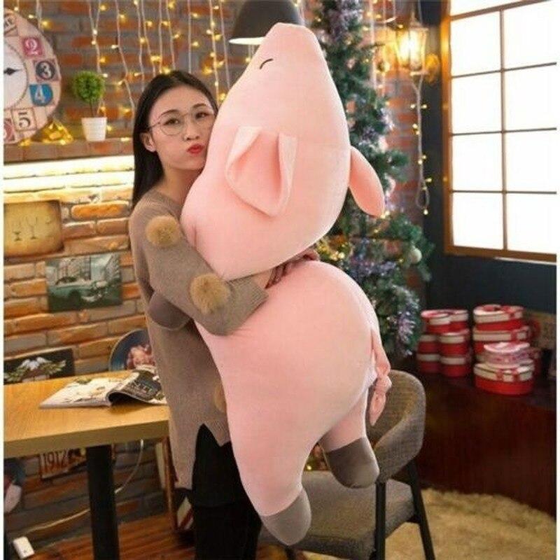 Big Pink Soft Pig Huge Pig Plush Toy 100cm/39.3