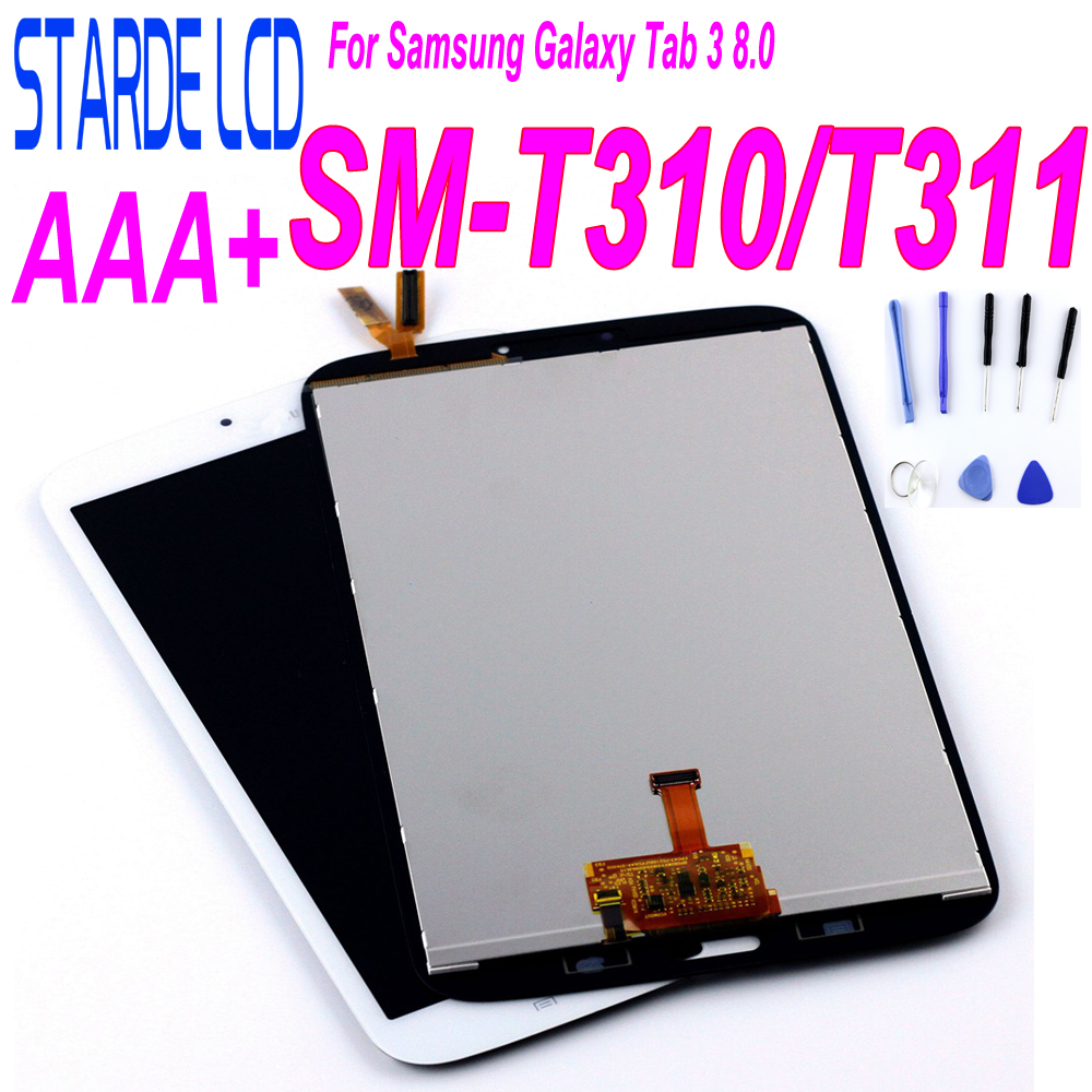 LCD For Samsung Galaxy Tab 3 8.0 T310 T311 SM-T310 Display SM Matrix Touch Screen SM-T311 Digitizer Sensor Part