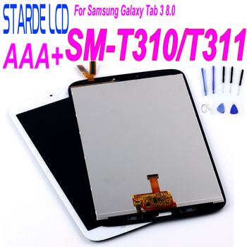 LCD For Samsung Galaxy Tab 3 8.0 T310 T311 SM-T310 Display SM T311 LCD Display Matrix Touch Screen SM-T311 Digitizer Sensor Part free shipping for samsung galaxy tab 3 8 0 sm t310 t310 wifi touch screen digitizer glass lcd display assembly replacement