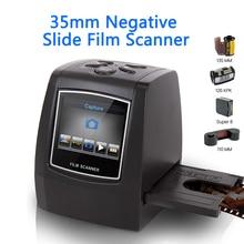 MINI 5MP 35mm Negative Film Scanner Negative Slide Photo film Converts USB Cable LCD Slide 2.4