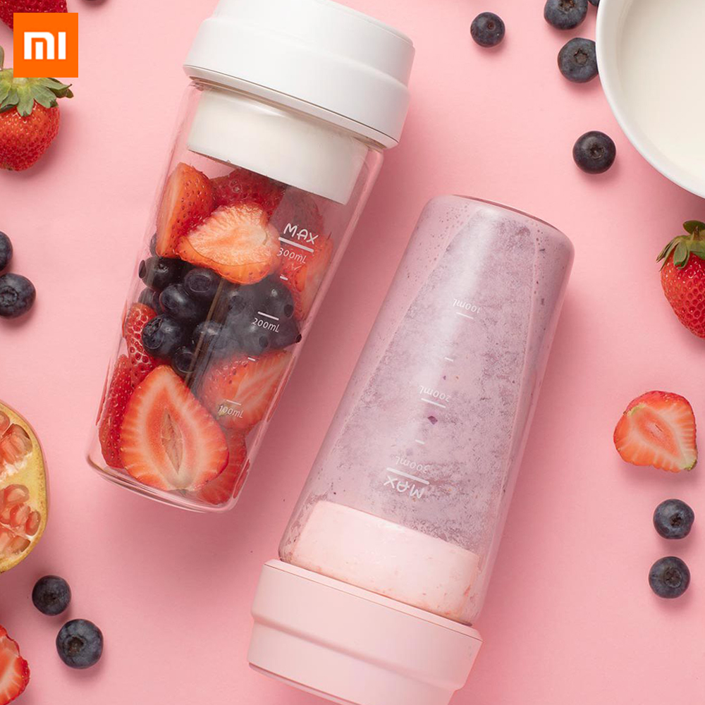 Xiaomi 17pin Star juicer 400ml fruit vegetable orange juice Magnetic Charging mi Mijia portable electric juice bottle cup