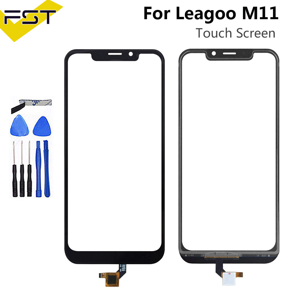 6.18''Black Tested Well Touch Screen Digitizer For Leagoo M11 Touch Panel Front Glass Lens Sensor Touchscreen For Leagoo M11
