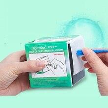 เครื่องมือทำความสะอาดไฟเบอร์ออปติกOptical Connector Cleanerผ้าเช็ดทำความสะอาดDUST Freeกระดาษ