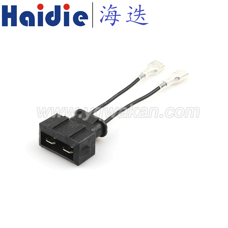 Free shipping VW special horn snail wire harness Nondestructive transformation plug from broken line harness connector|Connectors| |  - title=