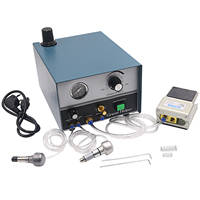 High Quality Graver Helper Pneumatic engraving machine with Two Handpieces Jewelry Tools & Equipment 110V/220V