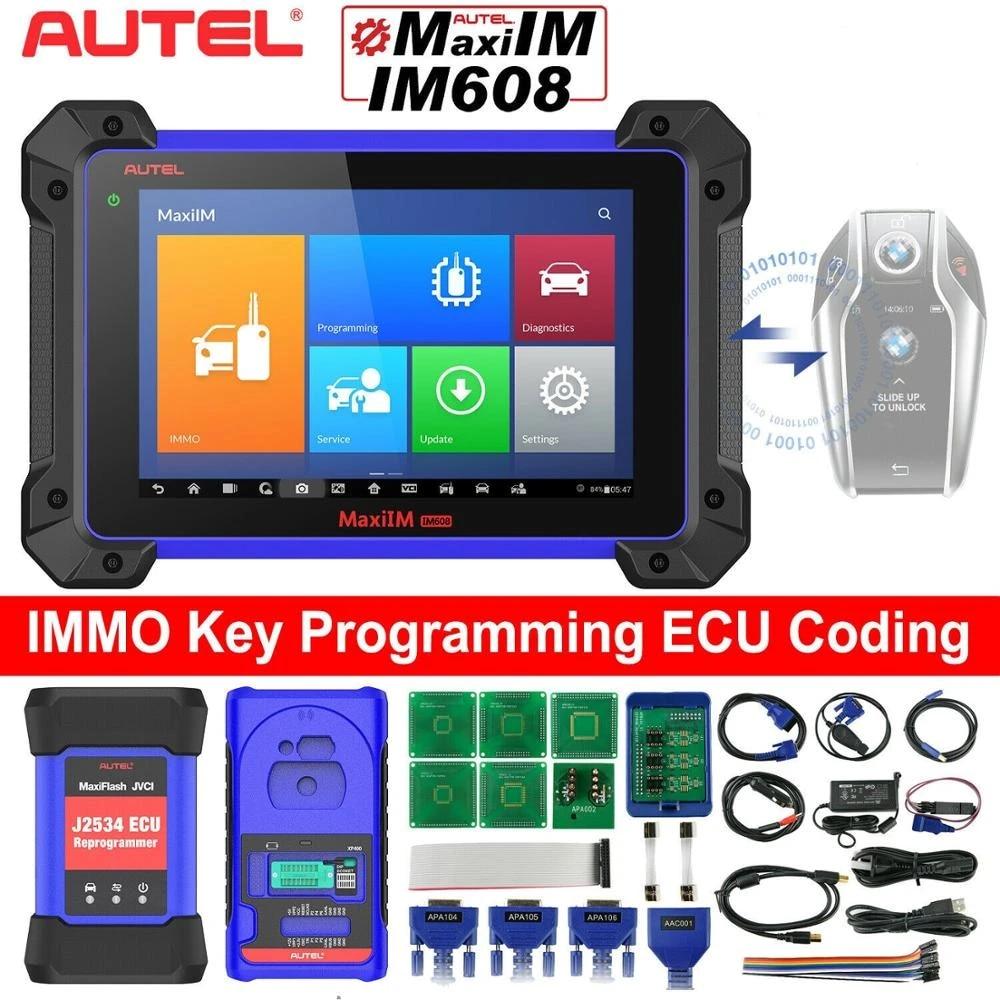 2021 Autel MaxiIM IM608 IM508 OBD2 Diagnostic Tool Scanner IMMO Key  Programming|Code Readers & Scan Tools| - AliExpress