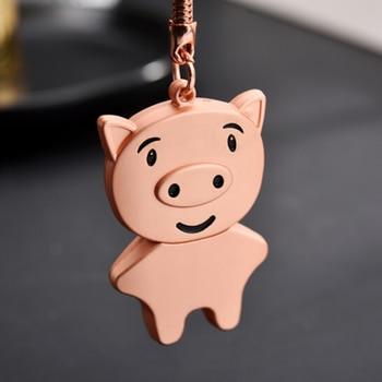 Custom DIY LOGO Metal Cartoon Pig usb 2.0 memory flash stick pen drive
