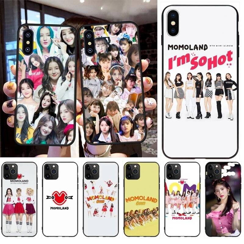 CUTEWANAN Momoland Daisy Custom Photo Soft Phone Case for iPhone 11 pro XS MAX 8 7 6 6S Plus X 5S SE XR case