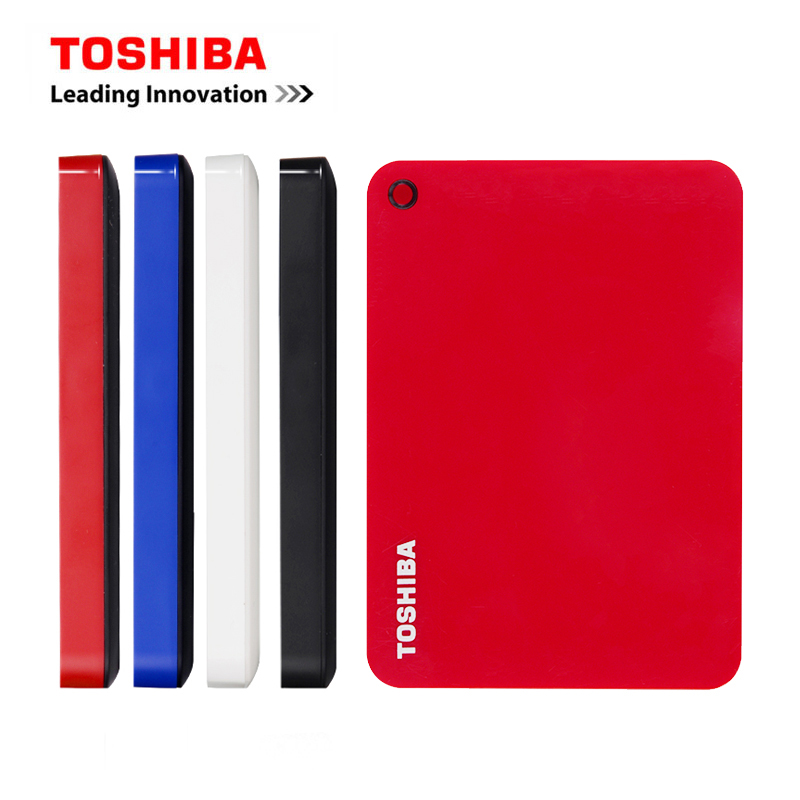 TOSHIBA Canvio ADVANCE 2 5inch External Hard Drive 1TB 2TB 3TB Portable USB 3 0 HDD Hard Disk Desktop Laptop Storage Devices HD V9