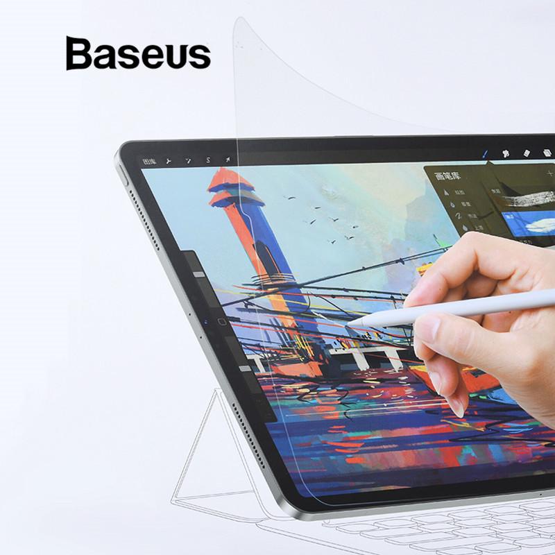 Baseus Paper Like Screen Protector For IPad 7 10.2 2019 Painting PET Film For IPad Air 3 IPad Pro 9.7 11 12.9 Inch Mini 5 4 Film