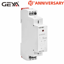 цена на GEYA GR8 AC DC 48V Switch Relay Intermediate Relay Auxiliary Relay 8A 16A SPDT RELAYS