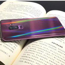 For Samsung Note8 Note9 Note10 Note10Pro S8 8P S9 S9P Aurora Transparent Back Film Mobile Phone Protective Back Soft Film(China)