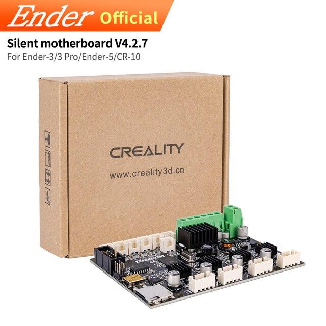 Upgrade Silent 32 bity V4.2.7 płyta główna/cicha płyta główna aktualizacja do drukarki 3D Ender 3/Ender 3 Pro/Ender 5 Creality