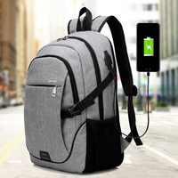 Litthing homme sac à dos sac marque 15.6 pouces ordinateur portable portable Mochila pour hommes sac à dos étanche sac à dos scolaire 32*18*48CM