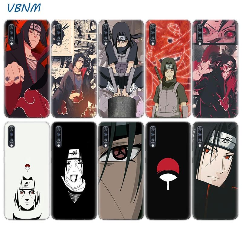 Anime Naruto Itachi Silicone Phone Case For Samsung Galaxy A51 A71 A50 A70 A20 A30 A40 A10 A20E J4 J6 A6 A8 A7 A9 2018 Cover