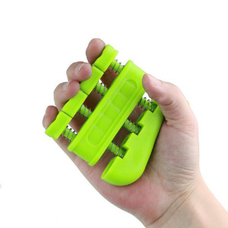 1PCS Grip Training Exerciser Small Double Row Spring Anti-slip Elastic Hand Grips Wrist Muscle Power Trainer Tool