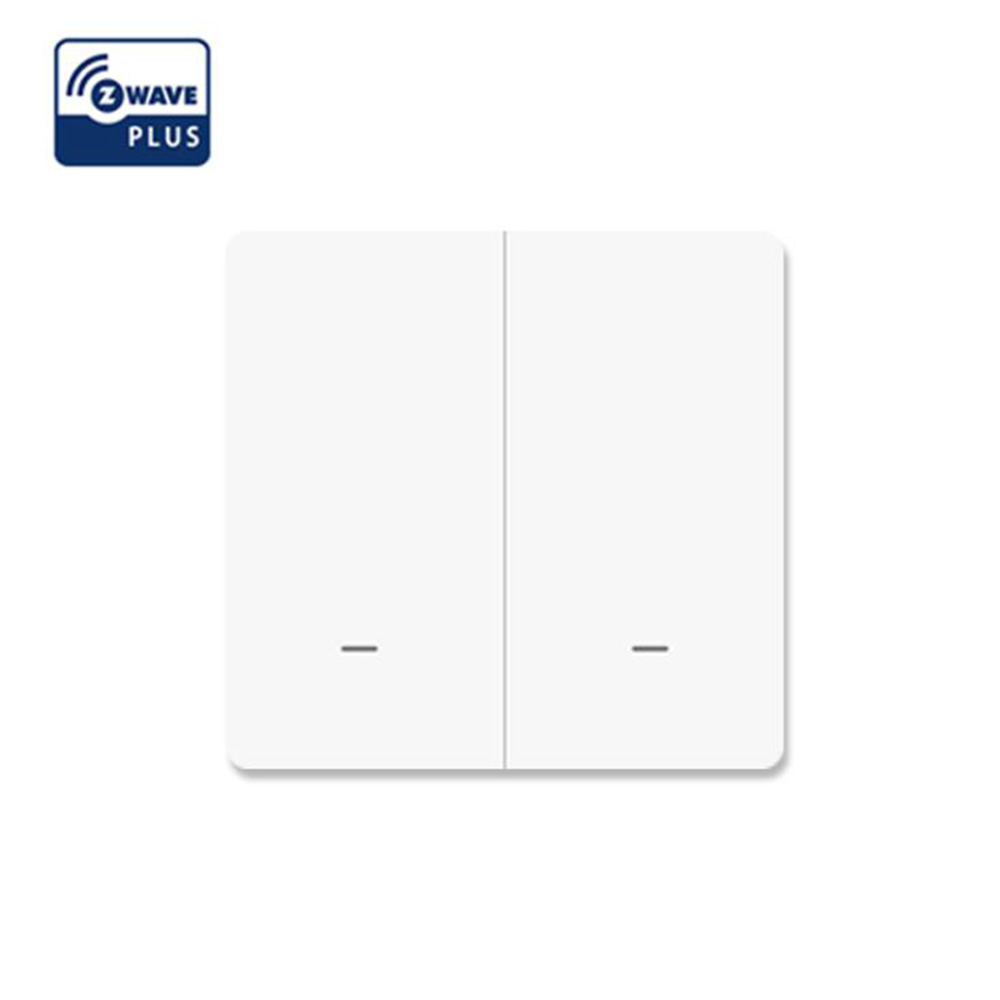 Smart Home Z Wave Plus Remote Control Smart Switch,Wall Panel Transmitter EU Zwave Frequency 868.4MHZ