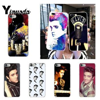 Yinuoda Elvis Presley Kiss Phone Case fundas coque for iPhone 12 8 7 6 X XS MAX 6S Plus XR 11 12 11pro promax 5 5S SE cover image