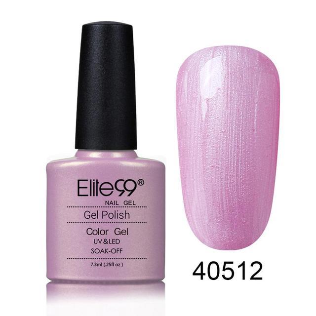 Elite99 7,3 ml Gel Nagellack Reine Farbe Nail art Design Maniküre Tränken Weg Emaille Gel Polish UV Gel Nagel polnischen Lack Lack