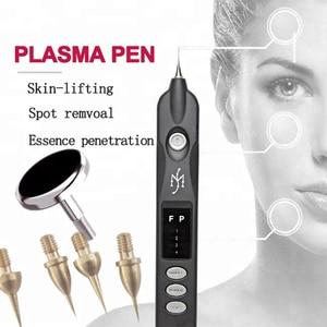Image 1 - 2019 newest Beauty Monster Plasma Pen Dark Spot Pigment Mole Tattoo Wart Removal Tool Skin Firming Ionic Skin Care Machine