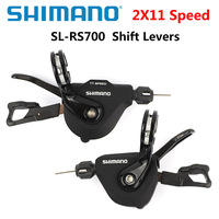 Shimano SL RS700 Rapidfire Plus Shift Levers 2x11 speed RS700 Derailleurs Road Bike bicycle Shifter Lever Flat Handle Bar Clamp