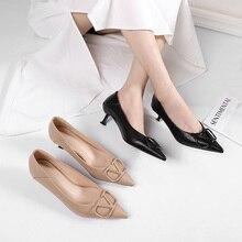 Zapatos de tacón alto y delgado para mujer, Sandalias de tacón fino con puntera y talón descubierto, aterciopeladas, lisas, para oficina, para vestir, para boda, 2020