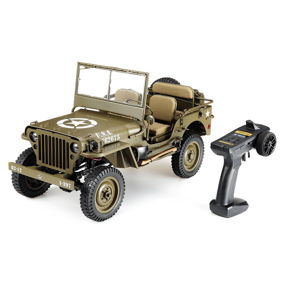 ROCHOBBY RC Car 1:6 2.4G 2CH 1941 MB SCALER Radio Control Car Waterproof Vehicle Models Fully Proportional Toys Without Battery