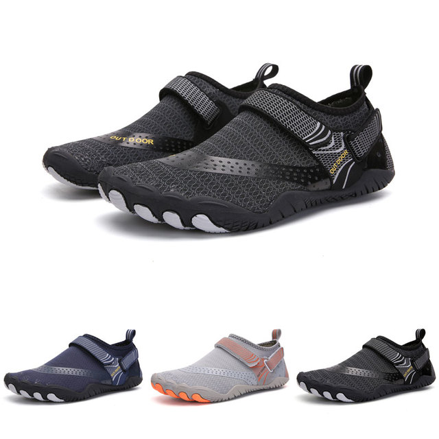 Elastic Quick Dry Aqua Shoes Plus Size Nonslip Sneakers Women Men Water Shoes Breathable Footwear Light Surfing Beach Sneakers 1